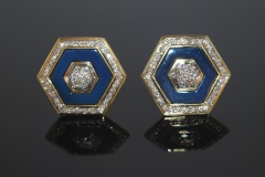 blue_gold_hexagon_earrings