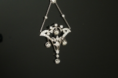 edwardian_platinum_diamond_drop_dangle_pendant