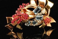 retro_18k_diamond_aqua_ruby_brooch