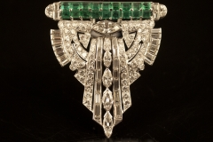 art_deco_emerald_diamond_brooch
