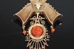 victorian_coral_brooch